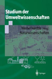 Studium der Umweltwissenschaften