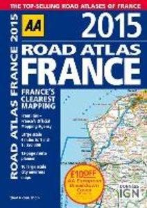 AA Road Atlas France 2015