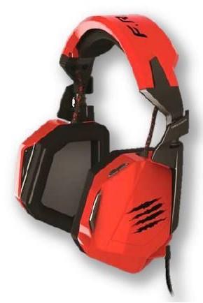 F.R.E.Q. 3 Headset, Kopfhörer, rot - zum Schließen ins Bild klicken