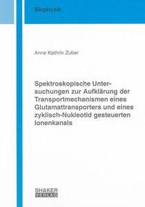 Spektroskopische Untersuchungen zur Aufklärung der Transportmech