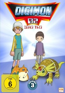 Digimon Adventure - Staffel 2, Volume 3: Episode 35-50