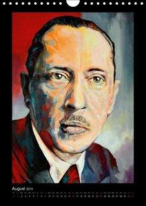 Pop Art Famous composers (Wall Calendar 2015 DIN A4 Portrait)