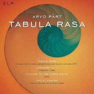 Tabula Rasa,Sinfonie 1,Collage