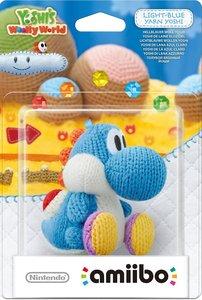amiibo Yoshis Wooly World - Light-Blue Yarn Yoshi, Hellblauer Wo