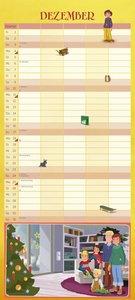 Wir Kinder aus dem Möwenweg Familienkalender 2017