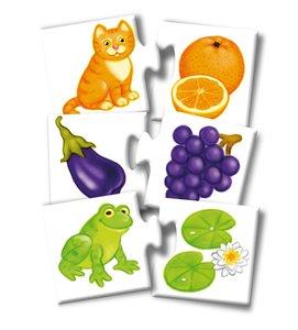 Noris 608985664 - Farben Puzzle