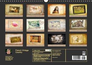 Bergmann, K: French Vintage Country (Wandkalender 2015 DIN A