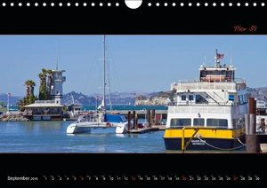 SAN FRANCISCO - Panoramic Highlights / UK-Version (Wall Calendar