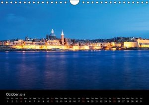 Malta. The sunny island full of charm. (Wall Calendar 2015 DIN A
