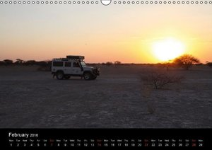 Off-road adventures in Africa (Wall Calendar 2016 DIN A3 Landsca