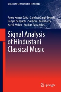 Signal Analysis of Hindustani Classical Music
