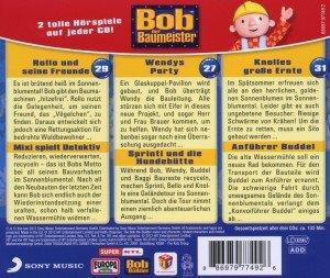 Bob, der Baumeister Box 10. Bobs Sammelbox