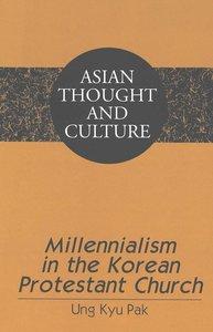 Millennialism in the Korean Protestant Church