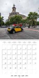 Emotional Moments: Barcelona - Metropolis (Wall Calendar 2015 30