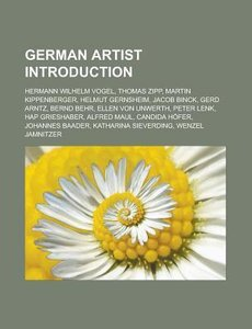 German artist Introduction