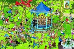 Jumbo Spiele 01889 - Jan van Haasteren: Der Musikpavillion