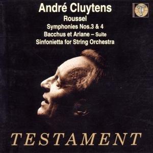 Sinfonien 3 & 4/Bachhus Et Ariane