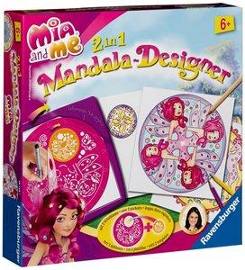 Ravensburger 297481 - 2 ind 1 Mia and Me, Mandala