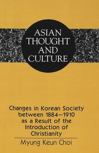Changes in Korean Society between 1884-1910 as a Result of the I