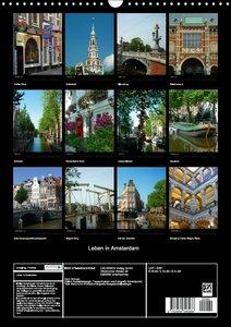 Leben in Amsterdam (Wandkalender 2016 DIN A3 hoch)