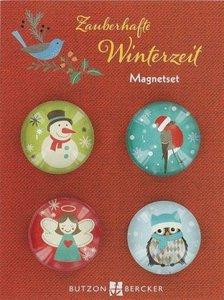 Zauberhafte Winterzeit - Magnetset