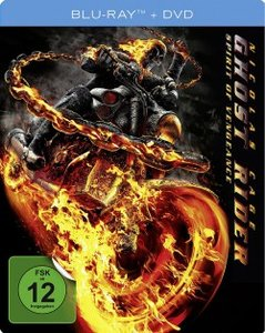 Ghost Rider: Spirit of Vengeance. Limited Steelbook Collection