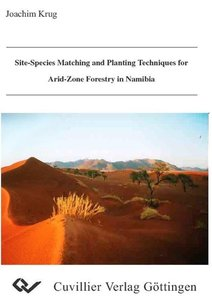 Site species matching and planting techniques for arid-zone fore