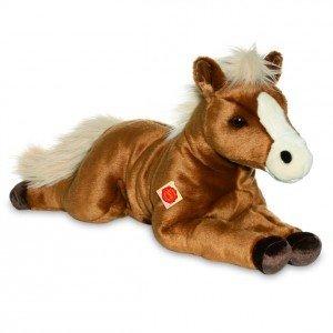 Teddy Hermann 90269 - Pferd liegend braun