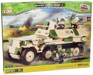 COBI 2472 - SD KFZ 251/10 Ausführung C, Small Army, grün/beige
