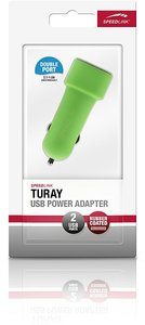 Speedlink TURAY USB Power Adapter, USB-Lade-Adapter für Auto-Zig