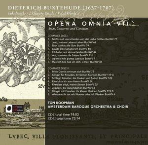 Opera Omnia VII-Vocal Works III