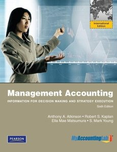 Management Accounting: International Version