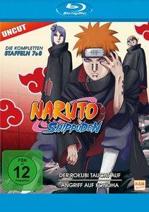 Naruto Shippuden - Staffel 7 + 8: Der Rokubi taucht auf / Angrif