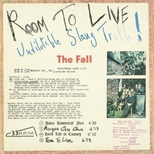 Room To Live:Undilutable Slang