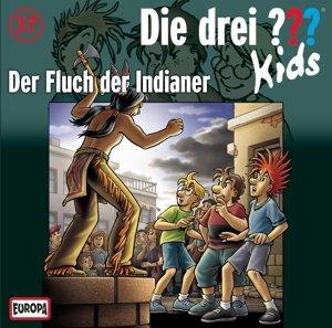 Die drei ??? Kids 37. Der Fluch der Indianer (Fragezeichen)