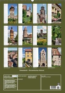 Dinkelsbühl - Romantisches Kleinod (Wandkalender 2017 DIN A2 hoc