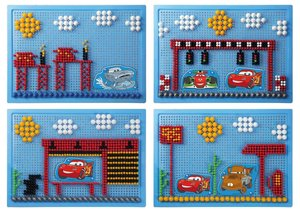Simm 35568 - Lena: Mosaik Cars Disney
