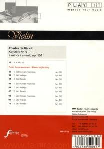 Konzert Nr. 9, a-moll, op. 104