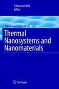 Thermal Nanosystems and Nanomaterials