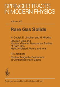 Rare Gas Solids