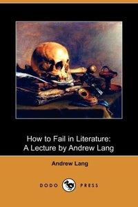 HT FAIL IN LITERATURE