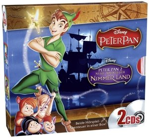 2er CD Box Peter Pan Teil (1+2)