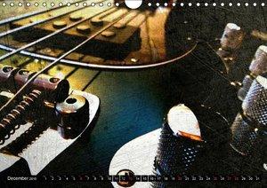 GUITARS Vintage Style (Wall Calendar 2015 DIN A4 Landscape)