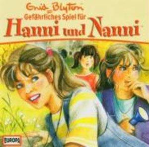 Hanni und Nanni 19. Gefährliches Spiel für Hanni und Nanni. CD