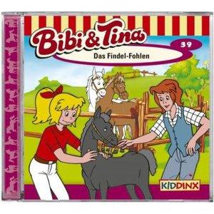 Bibi und Tina 39. Das Findel-Fohlen. CD
