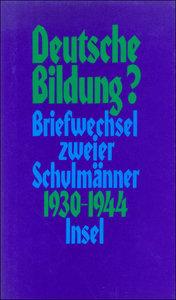 Deutsche Bildung?