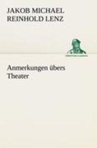 Anmerkungen übers Theater