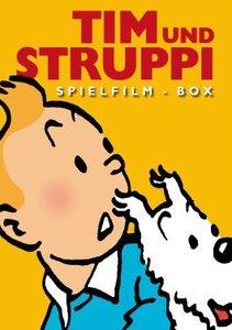 Tim & Struppi-Spielfilm Box