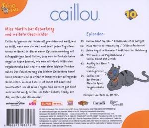 Caillou 10,Audio:Miss Martin hat Geburtstag und w