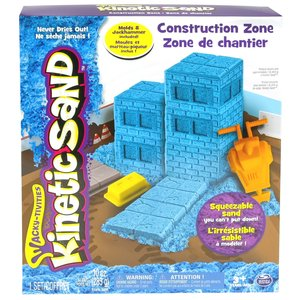 Kinetic Sand Sand Construction Zone Set 283g